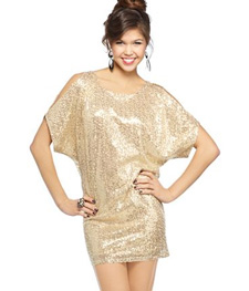 batwing sequin mini ($80, macys.com)