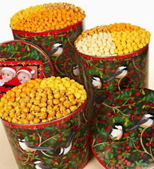 The Popcorn Factory Winter Song Popcorn Tins