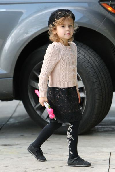 Jessica Alba's daughter, Honor Warren