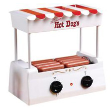 Nostalgia Electric hot dog roller