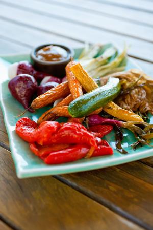 How to....Roast crispy veggies