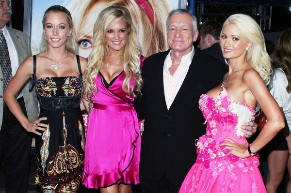 Kendra Wilkinson Bridget Marquardt Hugh Hefner Holly Madison