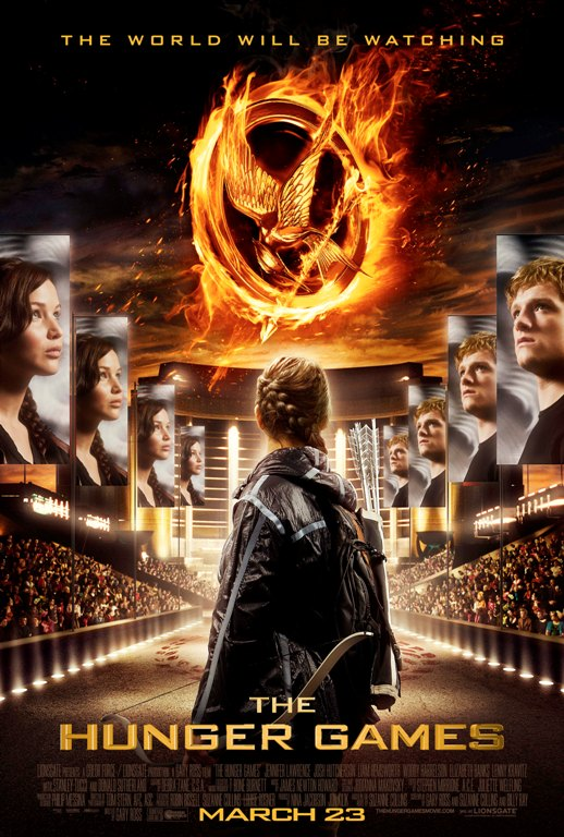 The Hunger Games puzzle poster