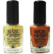 Blaze Color Changing Nail Lacquer