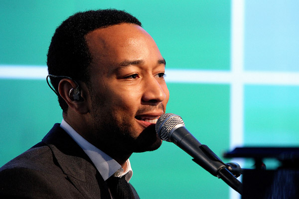 John Legend in Las Vegas for NYE
