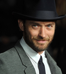 Jude Law with beard