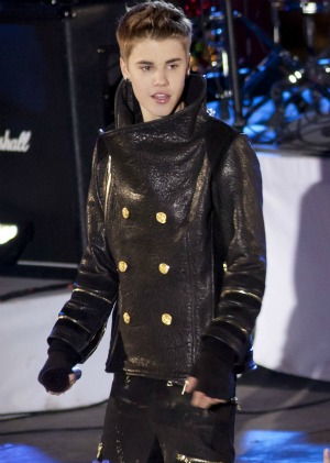 Justin Bieber's Christmas gift