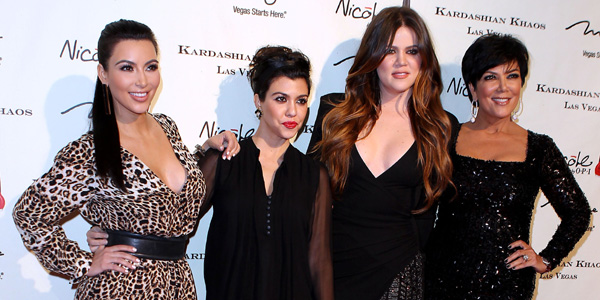 Kris Jenner, Kourtney, Khloe and Kim Kardashian