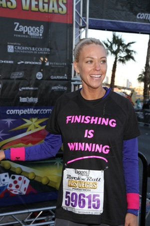 Kate Gosselin Las Vegas marathon