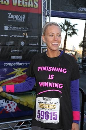 Kate Gosselin goes 26.2 in Las Vegas