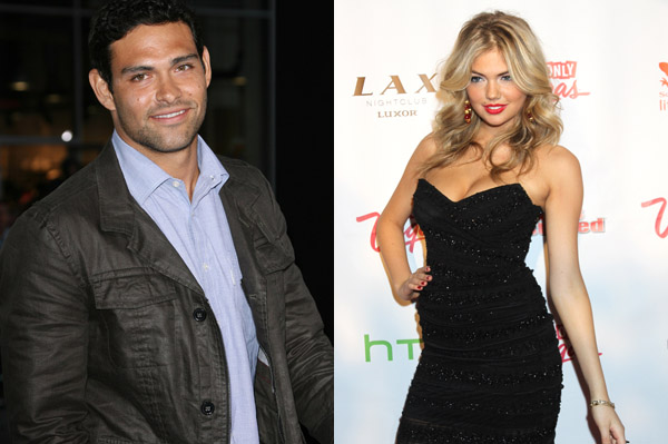 Kate Upton allegedly dating Mark Sanchez