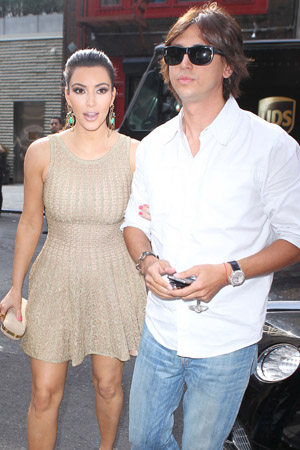 JOnathan Cheban flour bombed in New York