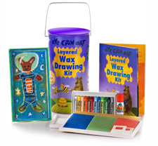 Eye Can Art Layered Wax Drawing Kit ($26)
