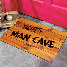 Doormat for the man cave
