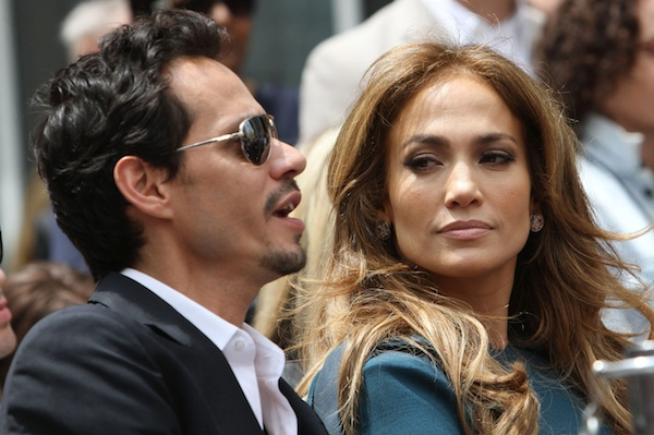 Jennifer Lopez and Marc Anthony were one of many celebrity breakups in 2011