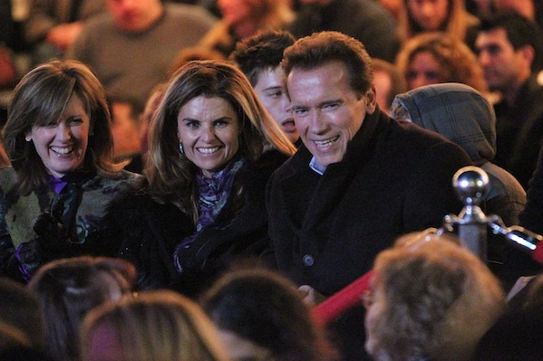 Arnold Schwarzenegger and Maria Shriver were one of many celebrity breakups in 2011