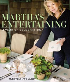Martha's Entertaining: A Year of Celebrations ($45)