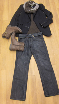 Men fashion -- Outerwear