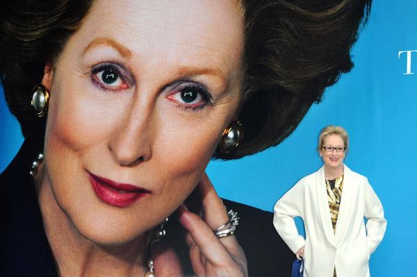 Meryl Streep is Margaret Thatcher