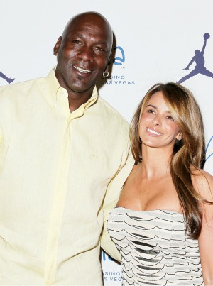 Michael Jordan and fiancee