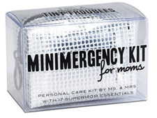 Mr. and Mrs. Miniemergency Kit for Moms