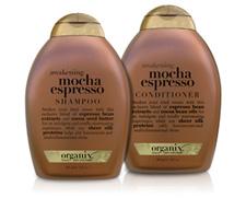 Organix Mocha Espresso Shampoo and Conditioner