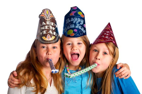 Have fun celebrating with the kids