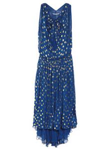 Diane von Furstenberg dot gown