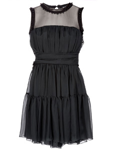 D&G silk sleeveless dress