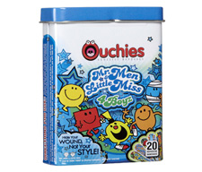 Ouchies Adhesive Bandages ($5)