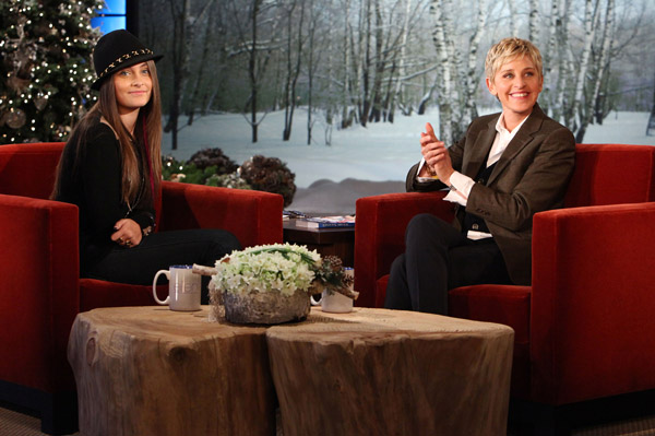 Paris Jackson talks about Michael Jackson on Ellen