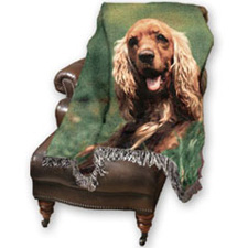 Personal pet photo blanket