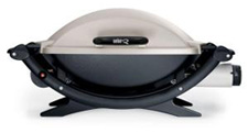 Weber portable gas gril