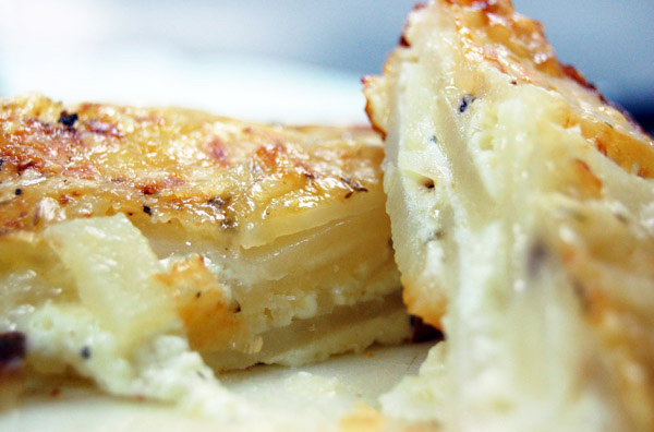 Au gratin potatoes glam it up