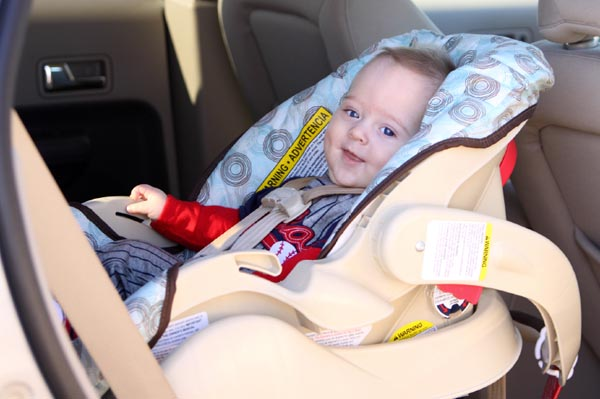 Rear-facing & booster seat changes