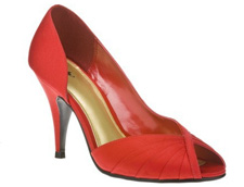 Mossimo peep toe pumps