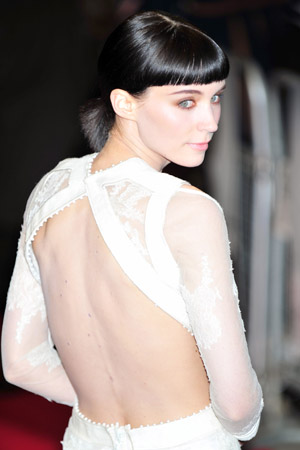 Rooney Mara is keeping her nipple piercing