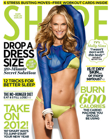 Shape magazine -- Molly Sims