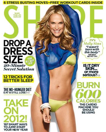 Shape magazine Molly Sims