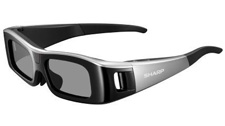 Sharp Active Matrix 3D glasses