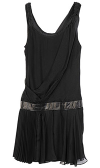 Rag & Bone drop waist pleated skirt dress with decidedly 1920s feel ($450)