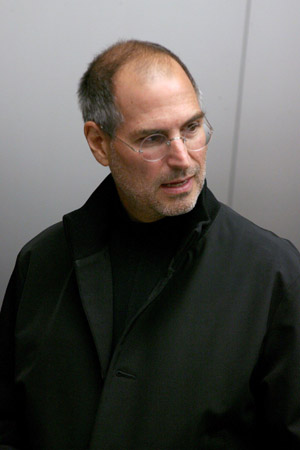 Steve Jobs getting a Grammy