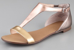 Color block metallic go anywhere sandals (shopbop.com, $78)