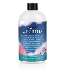 Philosophy Sweet Dreams Fresh Cream Shampoo, shower gel and bubble bath