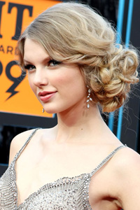 Taylor Swift Princess Leia bun