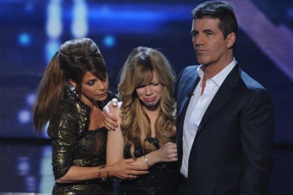 cowell's emotional elimination night!
