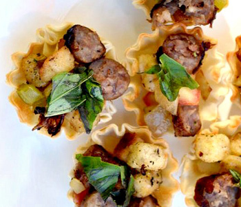 Decadent dairy and meat-free dishes