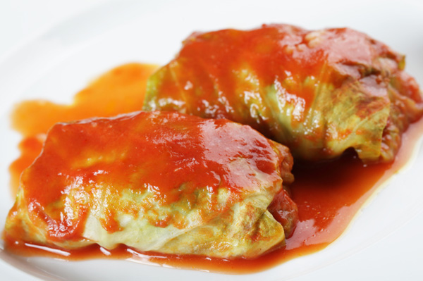 Meatless Monday: Vegetable-stuffed cabbage rolls