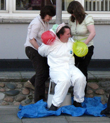 Wedding custom Scotland - Blackening the bride