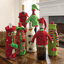 The Company Store Wine Bottle Covers ($12)